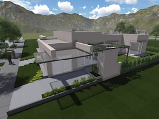 by MABEL ABASOLO ARQUITECTURA Modern