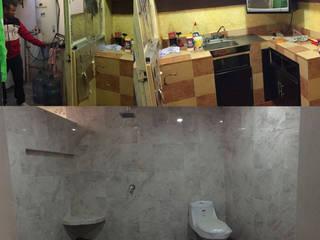 Remodelación de cocina y baño principal . de Gustavo Delgado Arquitecto