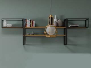 Idee per l'arredamento del salotto in stile Industrial:  in stile industriale di CasaArredoStudio, Industrial