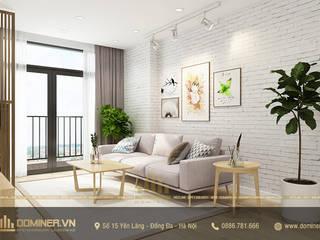 Thiết kế nội thất hiện đại chung cư Gelexia Riverside – Anh Thắng bởi Thiết kế - Nội thất - Dominer