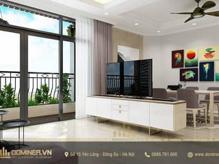Thiết kế nội thất chung cư Royal City – Anh Thiện bởi Thiết kế - Nội thất - Dominer