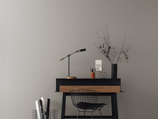 Ruang Studi/Kantor Modern Oleh SCHÖNER WOHNEN-FARBE Modern