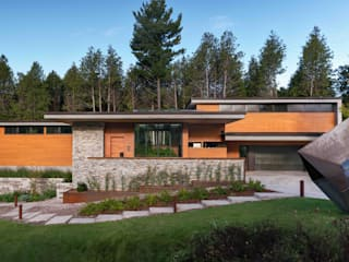 Trevor McIvor Architect Inc Modern houses