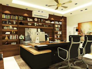 Modern offices & stores by Inaraa Designs Modern