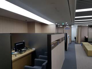 사무실-유안타증권 안산 by DB DESIGN Co., LTD. 모던