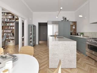 Apartament: styl , w kategorii  zaprojektowany przez Atmo-Studio