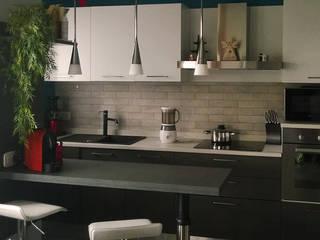 مطبخ تنفيذ Nocera Kathia rendering progettazione e design,