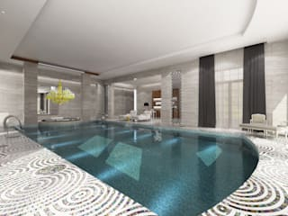 Private Spa - Doha / Qatar by Sia Moore Archıtecture Interıor Desıgn Eclectic