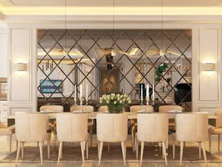 Serai Bukit Bandaraya, Bangsar:  Dining room by Norm designhaus