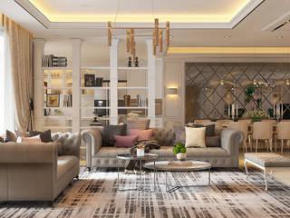 Livings de estilo  por Norm designhaus