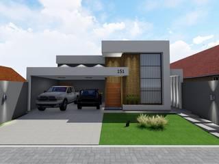 Casa Tingui Danilo Rodrigues Arquitetura Casas familiares