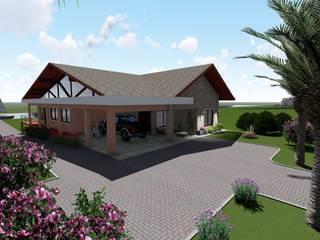 Casa de Campo Danilo Rodrigues Arquitetura Casas do campo e fazendas