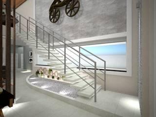 Casa Alphaville V&C Danilo Rodrigues Arquitetura Corredor, vestíbulo e escadasAcessórios e decoração