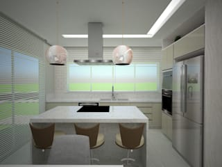Danilo Rodrigues Arquitetura KitchenBench tops