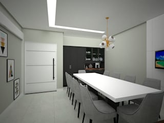 Danilo Rodrigues Arquitetura KitchenLighting