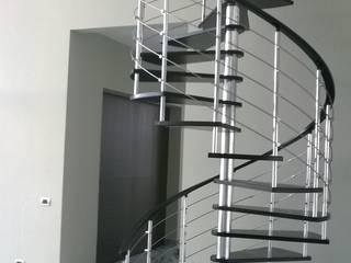Escalera modelo TOKIO HELIKA Scale Escaleras Metal Acabado en madera