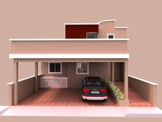 Casa tipo TOWN HOUSE de Imprearte spa Moderno