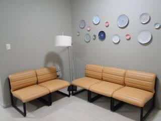 Interiores - Coworking - Recife - PE: Escritórios  por Cad design