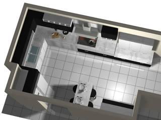 Cocinas Modernas y Funcionales de Imprearte spa Minimalista