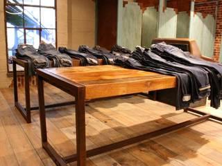 Projekt Hollad | Denim Factory Laurens Westhoff Industriale Geschäftsräume & Stores