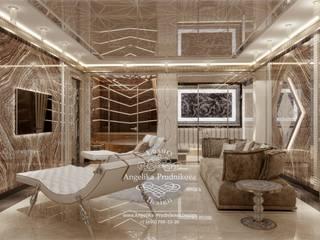 منتجع تنفيذ Дизайн-студия элитных интерьеров Анжелики Прудниковой