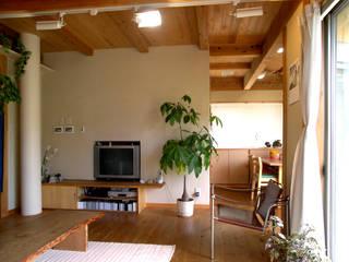 野木の家 モダンデザインの リビング の 山下建築研究所 モダン