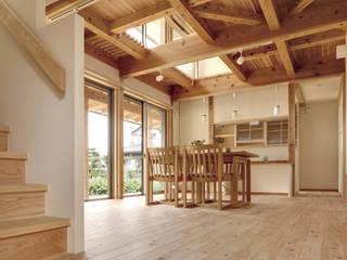 友沼の家 モダンデザインの リビング の 山下建築研究所 モダン