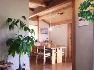 野木の家 モダンデザインの ダイニング の 山下建築研究所 モダン