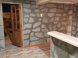 Remodelación de casa: Pasillos y hall de entrada de estilo  por Zona SpA