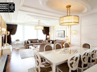 Bosphorus City Loft - Istanbul / Turkey Classic style dining room by Sia Moore Archıtecture Interıor Desıgn Classic