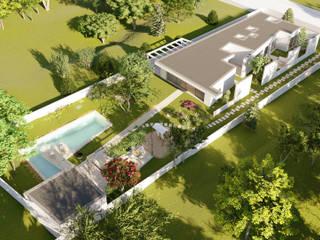 """Projeto """"Casa de Valadares"""" _ Seixal Casas modernas por INQUIETUDE ARQUITETURA Moderno"""