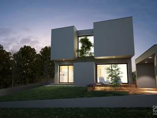 """Projeto """"Casa da Serra"""" _ Sintra Casas modernas por INQUIETUDE ARQUITETURA Moderno"""