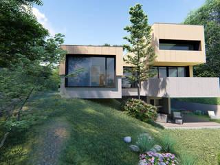 """Projeto """"Casa do Mira Douro"""" _ Gondomar Casas modernas por INQUIETUDE ARQUITETURA Moderno"""