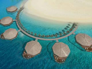 Lusail Bungalov - Doha / Katar Sia Moore Archıtecture Interıor Desıgn Tropikal
