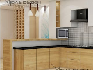 Built-in kitchens by Midas Dezign, Modern