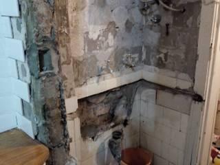 Remodelación cocina capital Constructora del Este Piletas de jardín Cerámico Blanco