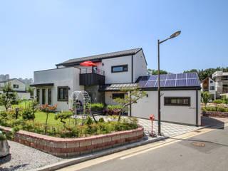 이우 건축사사무소 Casas estilo moderno: ideas, arquitectura e imágenes