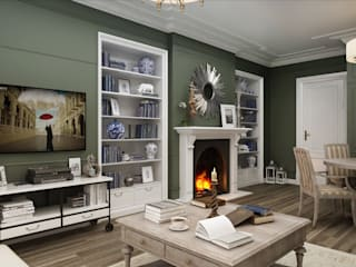 Chelsea Flat - London / UK by Sia Moore Archıtecture Interıor Desıgn Eclectic