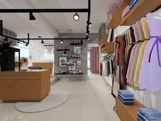 Oficinas y tiendas de estilo ecléctico de Daniela Ponsoni Arquitetura Ecléctico