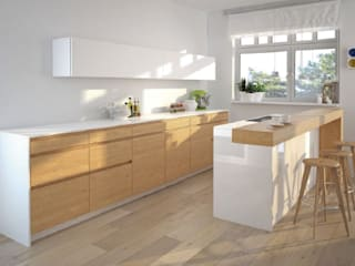 KITCHENS: minimalist  by Modula, Minimalist