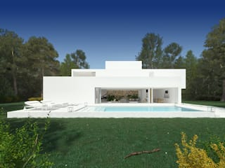 Дома в стиле минимализм от martimsousaemelo Минимализм