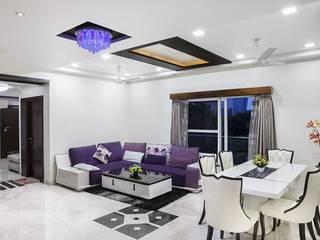 Apartamento T3 remodelado nas Laranjeiras, em Lisboa, com acabamentos de alta gama.: Salas de estar  por Screenproject Consulting Engineers, Lda