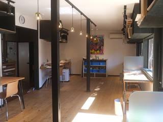 アトリエそらのいろ ラスティックスタイルな 壁&床 の 湘南建築工房 一級建築士事務所 ラスティック