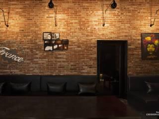 전주인테리어-너바나 와인카페: 내츄럴디자인컴퍼니의  바 & 카페