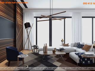 Modern living room by Hoàn Thành Group Modern