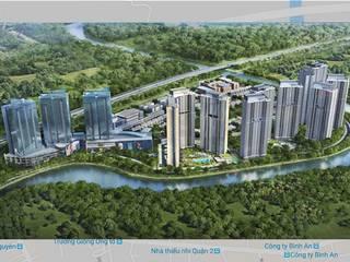 Modern houses by Hoàn Thành Group Modern