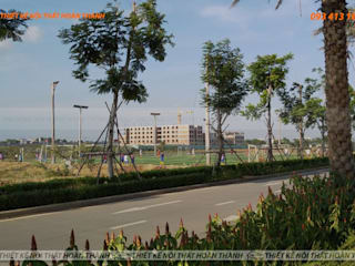 Maisons de style  par Hoàn Thành Group,