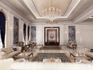 Pearl Villa - Doha / Katar Klasik Oturma Odası Sia Moore Archıtecture Interıor Desıgn Klasik