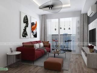 Công ty CP tư vấn thiết kế và xây dựng V-Home 客廳配件與裝飾品