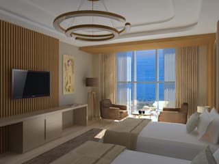 Minimalist hotels by Asya Yapı İçmimarlık Minimalist